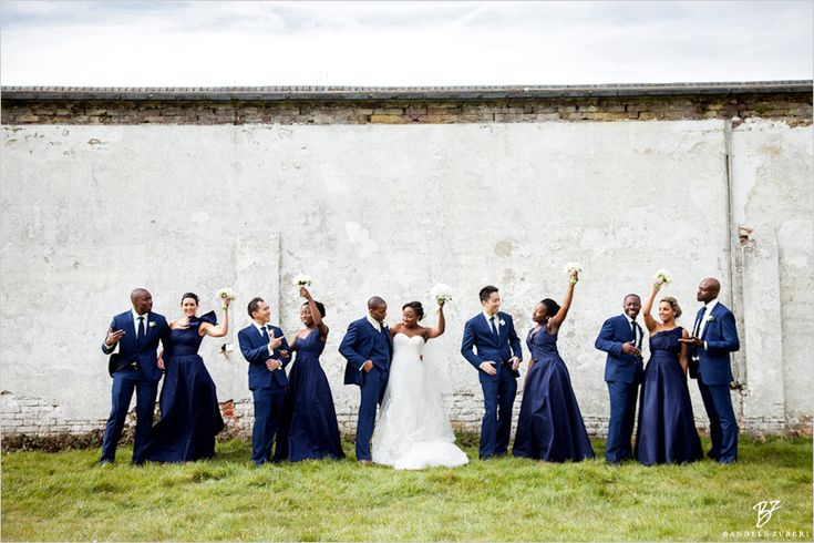 Daytime V's Evening Wedding Guests - Nu Bride (C) Bandele Zuberi