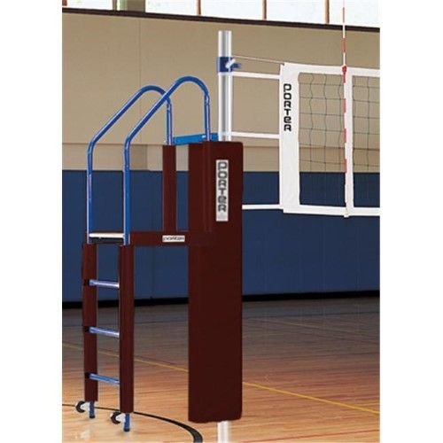 Porter Athletic Equipment Pr01981010 Power Line Volleyball International Package Maroon As Shown Athletic Equipment Post Design Volleyball