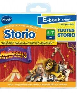 Vtech-Spanish-Vtech-Storio-Juego-Madagascar-3-En-Espaol #vtech toys #vtech baby toys #electronic toys