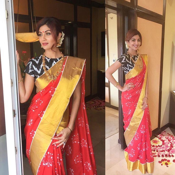 Shilpa Shetty in saree