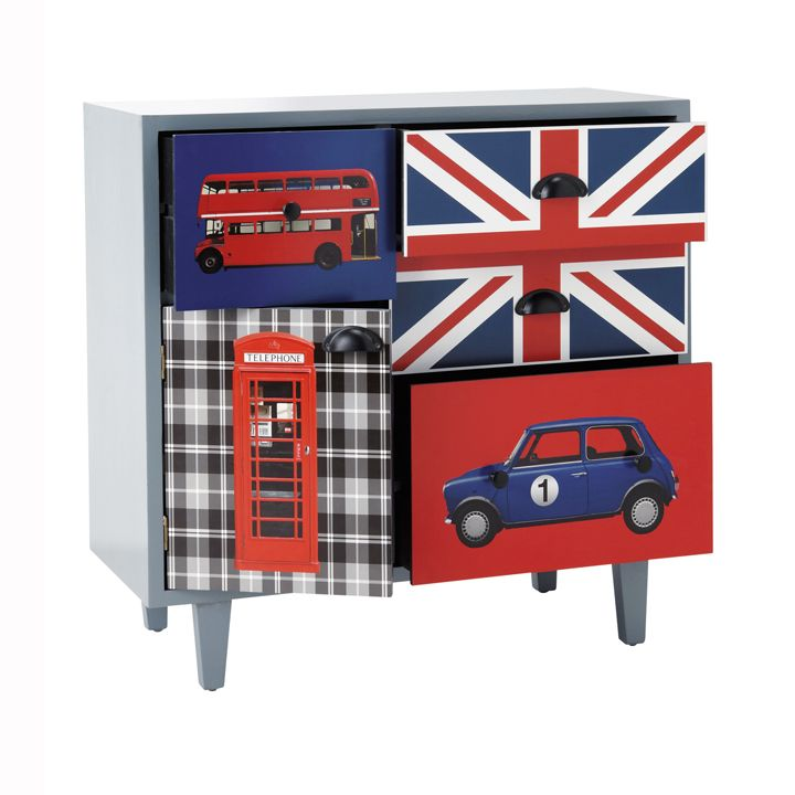 deco chambre union jack avec des id es int ressantes pour la conception de la chambre. Black Bedroom Furniture Sets. Home Design Ideas
