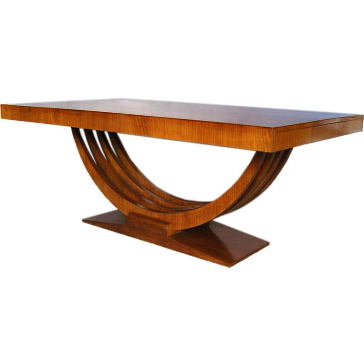art deco dining table - Art Dining Room Furniture