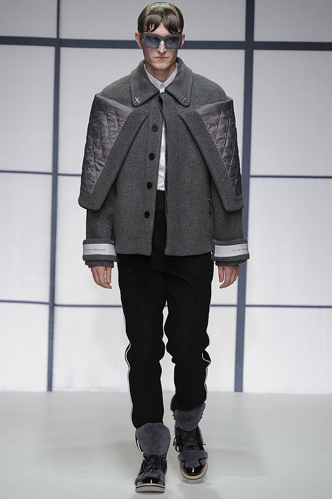Xander Zhou AW13 #LondonCollections