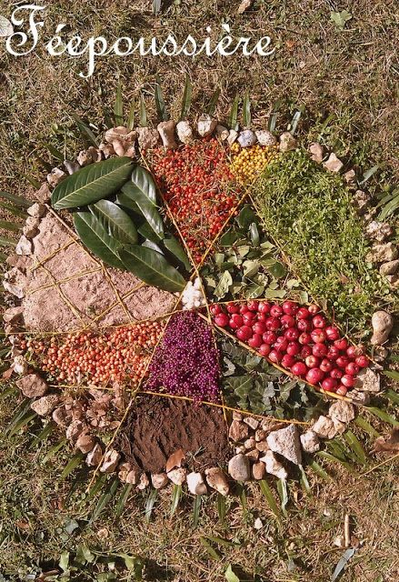 Et si on apprenait...à la maison?!: Land Art et Mandala