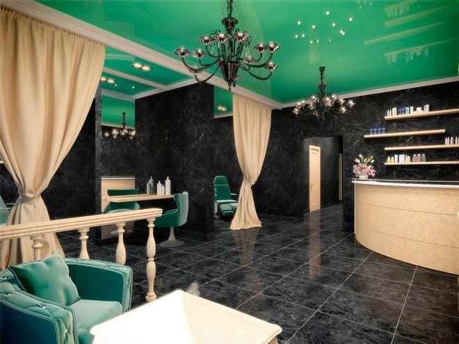 Салон красоты / Дизайн салона красоты в Санкт-Петербурге от студии Маши Марченко
