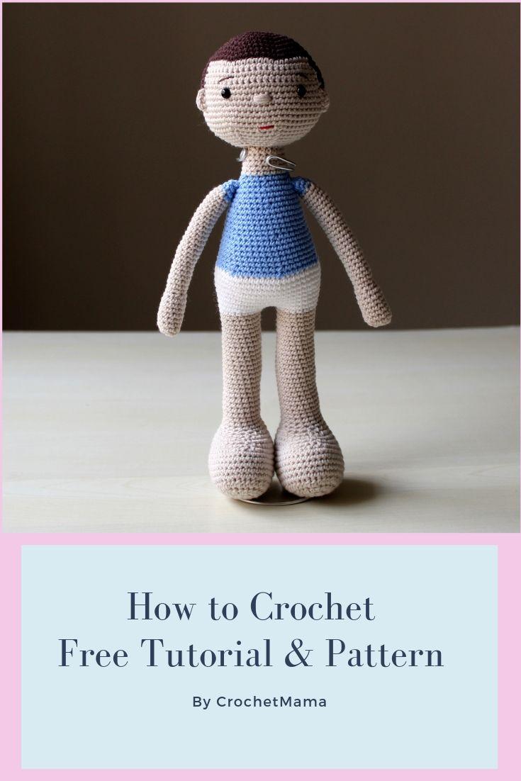 Amigurumi Boy Doll Crochet Doll Stuffed Doll Handmade Doll | Etsy | 1102x735