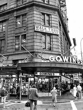 Gowings building, George St, Sydney