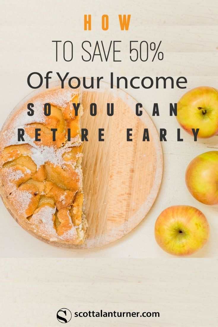 Discover how to save 50% or more of your income so you can retire early. You can achieve financial freedom and reach your goals faster by following these tips to get ahead. via @rockstarnation