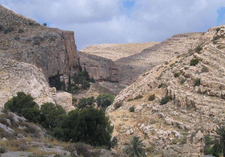 Фаранская лавра в вади Кельт в Иудейской пустыне Bukvoed, CC BY-SA 3.0