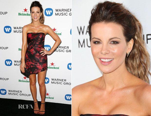 Kate Beckinsale In Rubin Singer - Warner Music Group's Annual Grammys Celebration. Beautiful legs