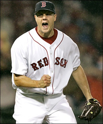 Jonathan Papelbon - the best closer in Boston Red Sox history!