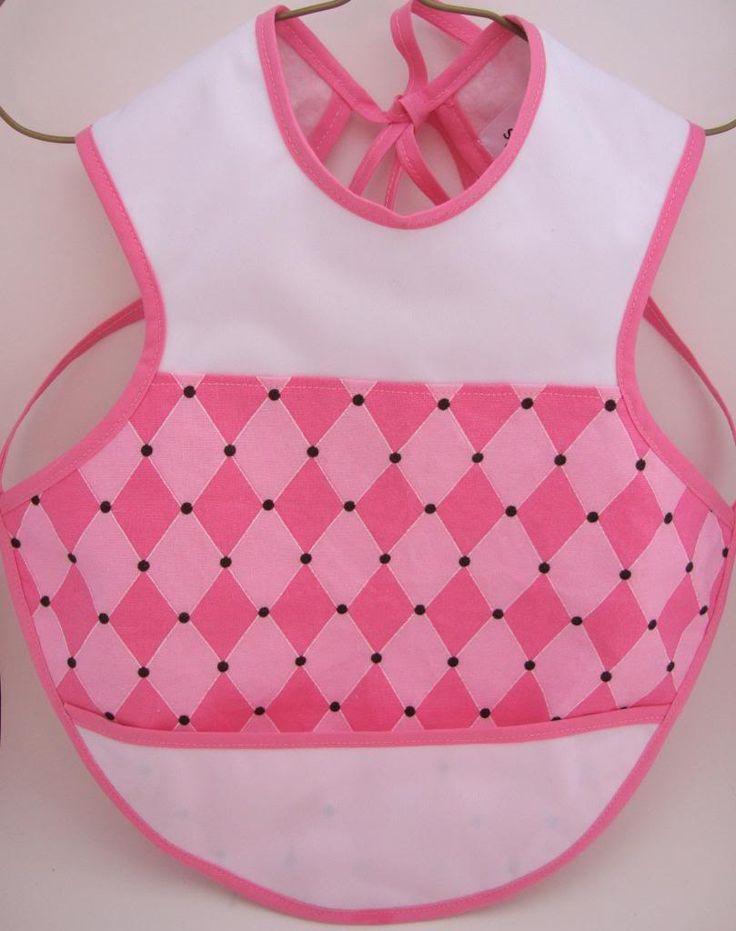 Pink Harlequin Bapron :: Pandalina's Pocket Online Shop