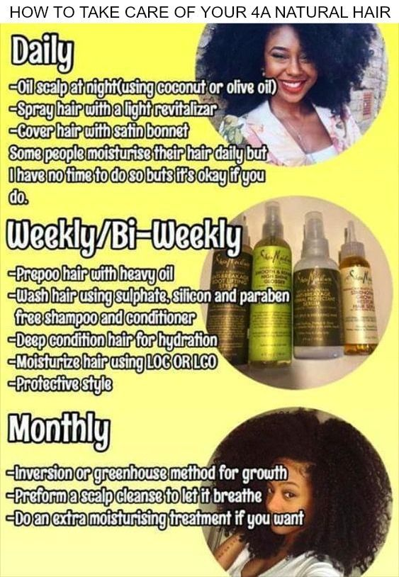 Are you struggling to care for your 4a natural hair? I know it takes lots of time and patients but with the correct knowledge and tools, you can have healthy natural hair, click here to learn a lot more on caring for your hair.