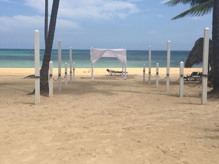 Dreams beach gazebo