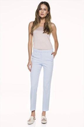 İpekyol - Mavi Pantolon IS1150003031 %49 indirimle 91,00TL ile Trendyol da