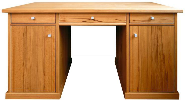 Solider #Schreibtisch aus #Massivholz - ein Stück fürs ganze Leben! © www.buchenblau.de
