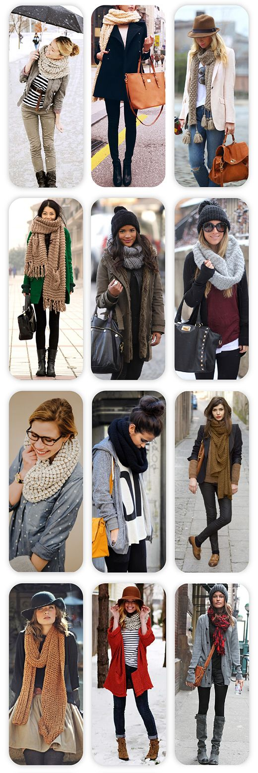 Winter Trend: Κασκόλ / Winter Trend:Scarfs