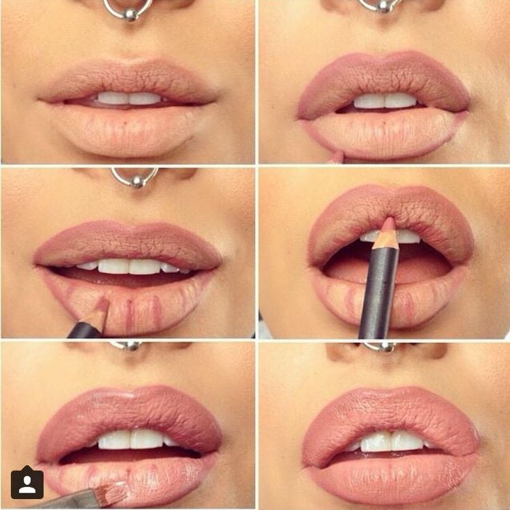 Kylie Jenner look a like lip tutorial. #kyliejenner. #lipliner.
