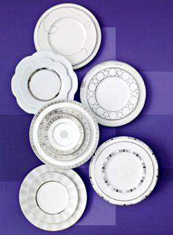 Gorgeous Dinnerware Designs - From bold and boho to marvelously metallic, we've got your perfect pattern - Wedding Registry