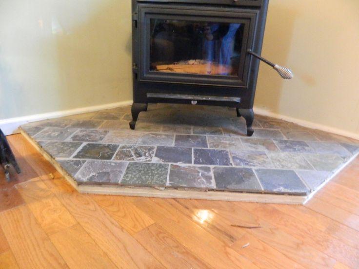 Woodstove Surround   Value Vs. Ku003dfactor Hearth Pads (hardwood Floor, Home