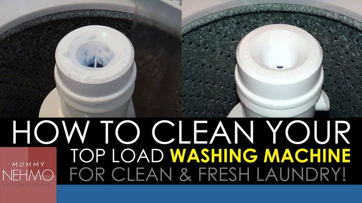 How To Clean Top Load Washing Machine