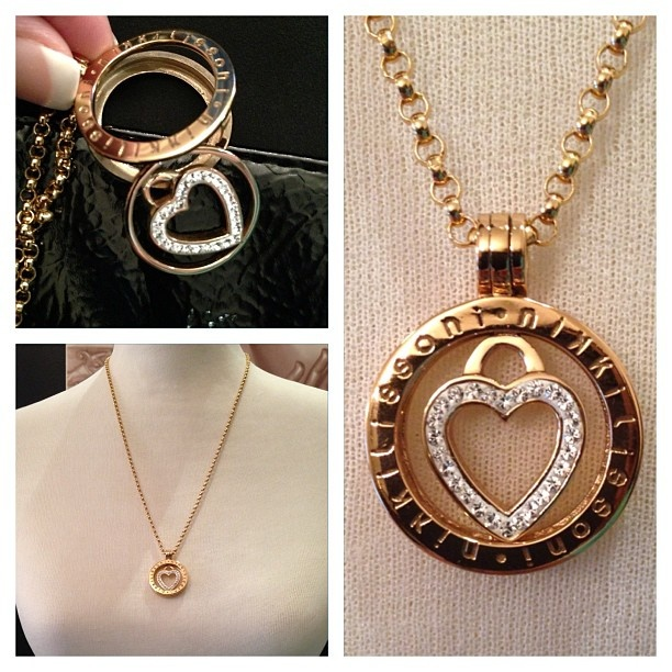 it's time to drop your guy a HINT!   Fabulous necklace from Nikki Lissoni...Now available at Jonathans Fine Jewelry!