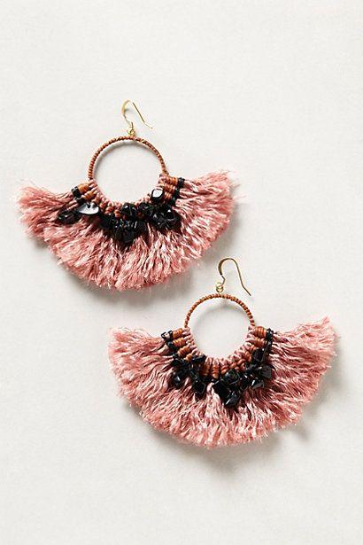 tassel earrings - Anthropologie