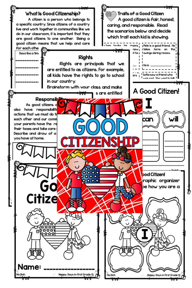 This ELA/SS unit includes all resources that you need to teach the basics of citizenship and what it means to be a good citizen in one week.