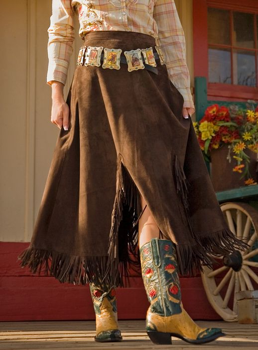 Patricia Wolf Western Suede Skirt - Smith And Western Online Click Back To Main Site Box Above Left