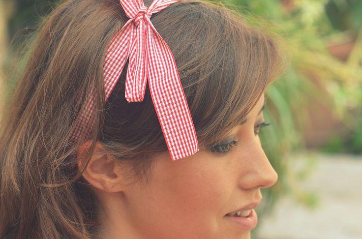headband-ruban-vichy-rouge-estival Frou-Frou et Saraha