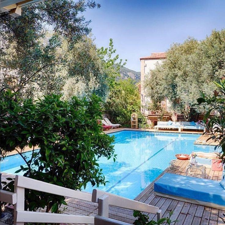 İyi haftalar Yeryüzünde ki cenneti arayanlara @oysterresidences otelinin bahçesinden ufak bir ön gösterim… #sonbahar #deniz #doğa #tatil  Oyster Residences  www.kucukoteller.com.tr/oyster-residence Oludeniz / Muğla 26 Odalı / Rooms Lüks / Luxury Romantik Otel Yüzme Havuzlu / With Pool ✨ Adult Only / Yetişkinlere Özel