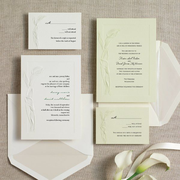 Invitations By Exclusively Weddings Wedding Photos On WeddingWire