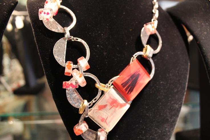 Beautiful link necklace by Anne Marie Chagnon. #annemariechagnon