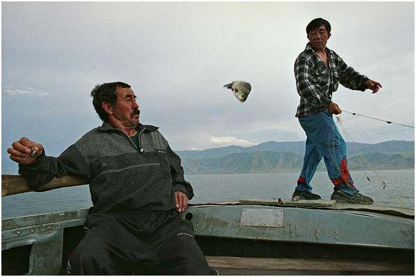 Sergey Maximishin, Fishng on Irtysh river, Kazakhstan, 2004