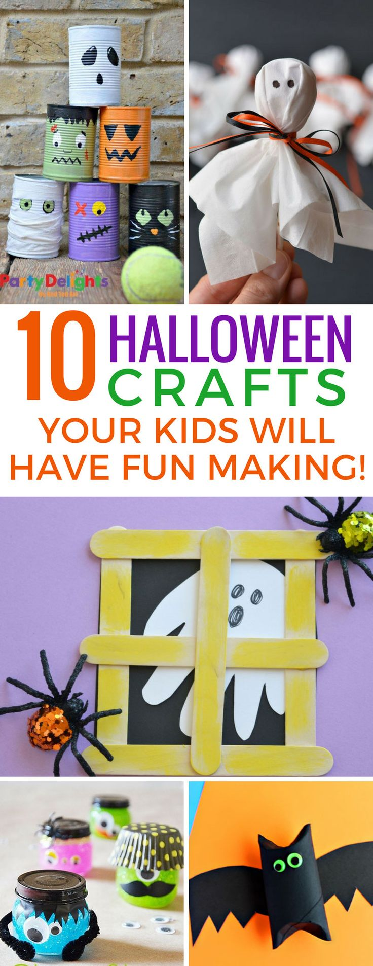 These easy Halloween crafts for kids are super fun and we can't wait to get started! Thanks for sharing!
