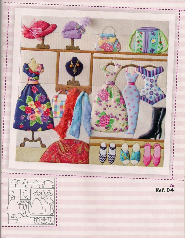 What a great girly quilt!