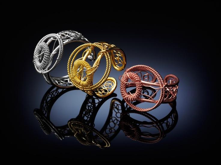 Pizzo rings. A breath of fresh air.
