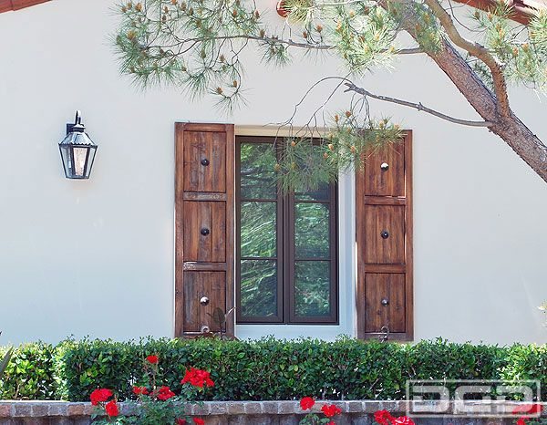 18 best images about exterior house shutters on pinterest for Spanish style window shutters