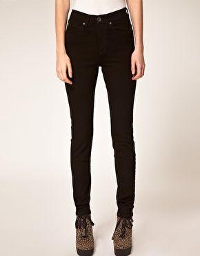 Vergrößern Dr. Denim – Arlene – Enge Jeans mit hoher Taille