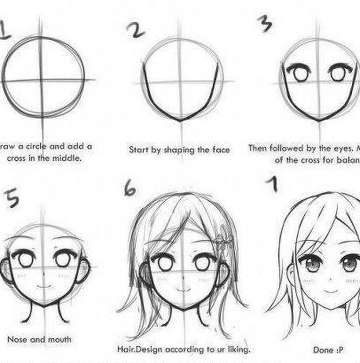 Character Design For Beginners : Best images about anime manga drawing tips on