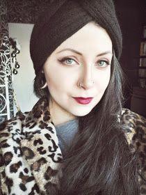 Michelle Giovanni - d.i.y. and make-up: D.I.Y.'s: повязка-тюрбан с шипами и шапка-тюрбан