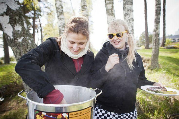 Parsalaituri  Espoo, Finland Restaurant Day 19 May 2012 Photo: Hanna Anttila #restaurantday