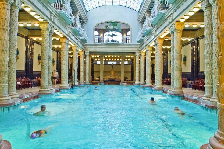 The Gellert Baths, Budapest