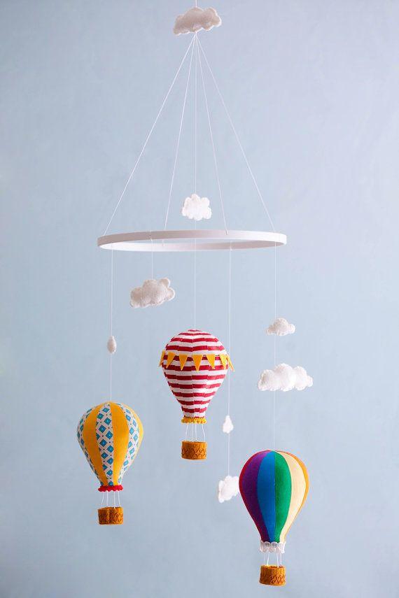 Hot Air Balloon Mobile.