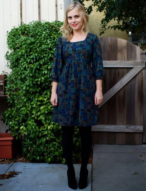 Miss Make: Autumn Washi Dress