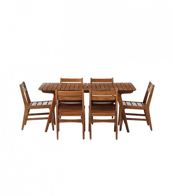 West Elm Midcentury Outdoor Dining Set ($1500)