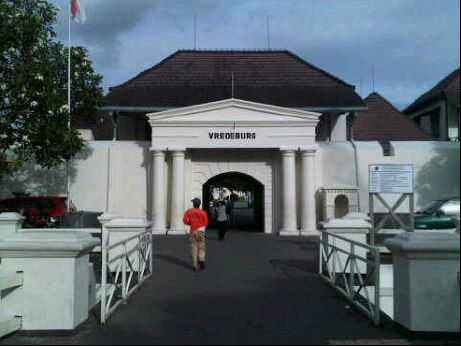 Vredeburg Museum was a fortress to protect Dutch East India Company businesses in Jogjakarta.