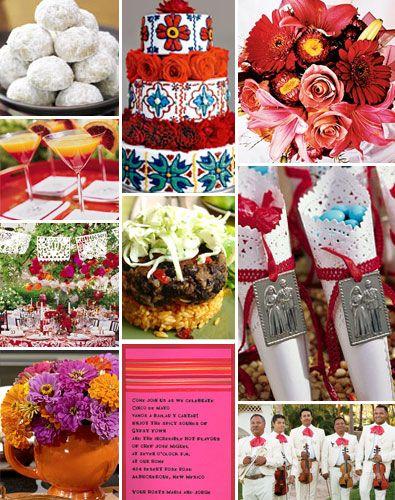Mexican ThemeWeddings - Brenda's Wedding Blog - unique wedding blogs for stylish weddings and inspiring visuals