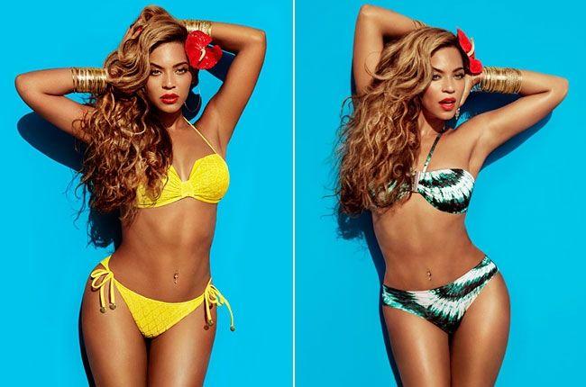 Beyonce Flaunts Her Hourglass Figure In NEW H Bikini Campaign ~ @Gossipwelove