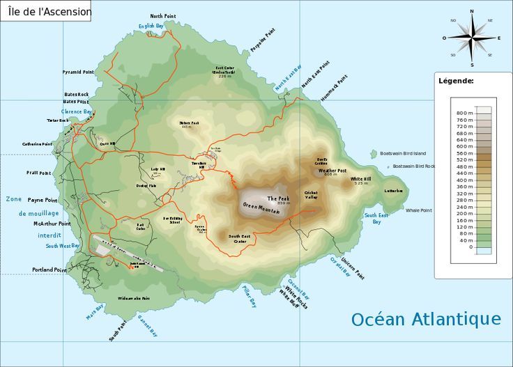 Best Ascension Island Images On Pinterest Cunha Saint - Saint helena map